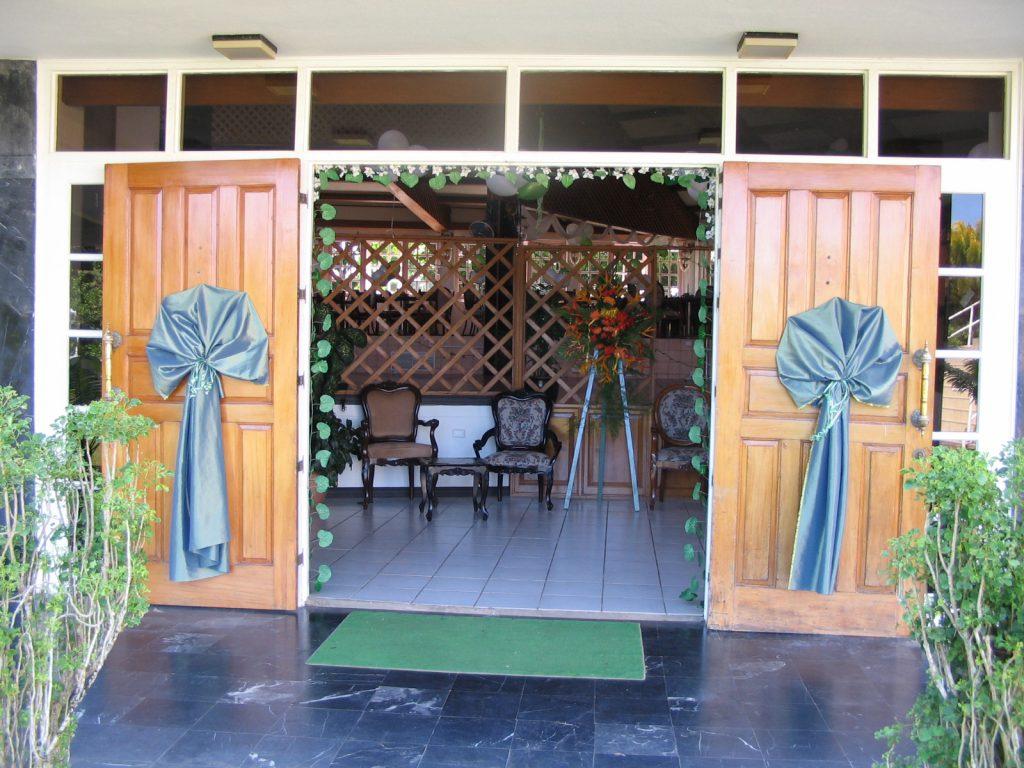 Casino Doors decorated